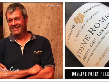 """""""Most Floral-infused Wine"""" AM, Bordering La Tâche, Forey Vosne-Romanée Les Gaudichots 1er Cru 2018"""