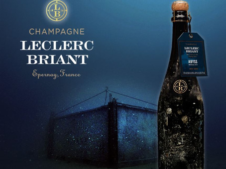 In Stock Now! Leclerc-Briant 'Abyss' Brut Zero 2014, A Champagne from the Ocean