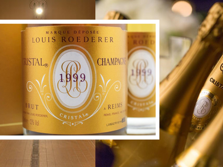 "98pts ""One of the Finest Champagnes"", Louis Roederer Cristal 1999 at Only HK$3,000/Bt"