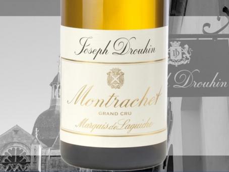 """95-97pts """"Deeply Impressive"""" Joseph Drouhin Montrachet Marquis de Laguiche Grand Cru 2018"""