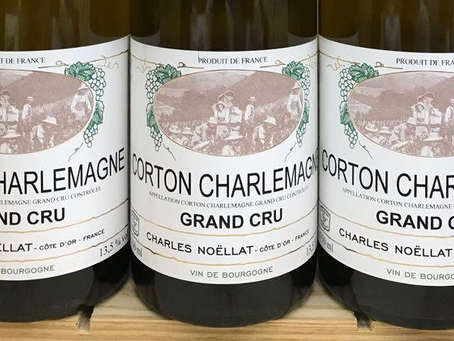 New Back-Vintage Release from Charles Noellat: Corton-Charlemagne 2015 at HK$690/Bt