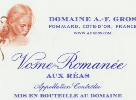 A.F. Gros Vosne-Romanée Aux Reas: A Vertical Collection of 2010, 2011 & 2012