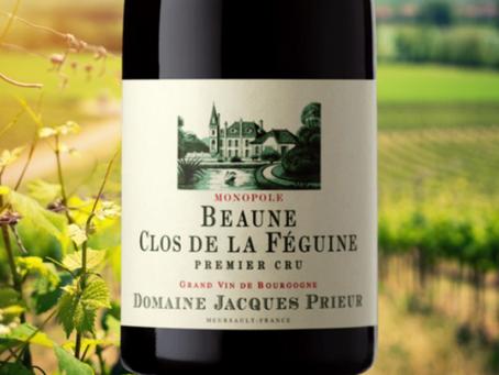 """""""Seductively Textured Flavors"""", Jacques Prieur Beaune Clos de la Féguine Monopole Rouge 1er Cru 2015"""
