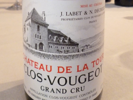 93pts Magnum Château de La Tour Clos-Vougeot Grand Cru 2012 at HK$1,600/Bt Only and Other Vougeot