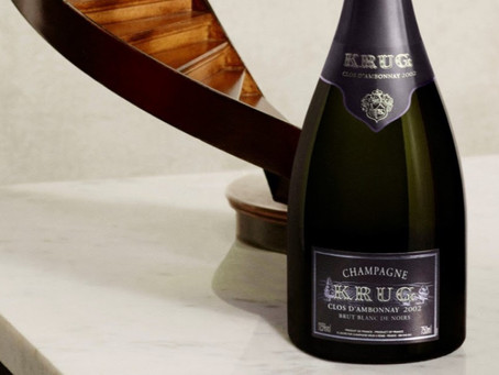 In-Stock Now! KRUG Clos d'Ambonnay, Clos du Mesnil and Vintage Selections