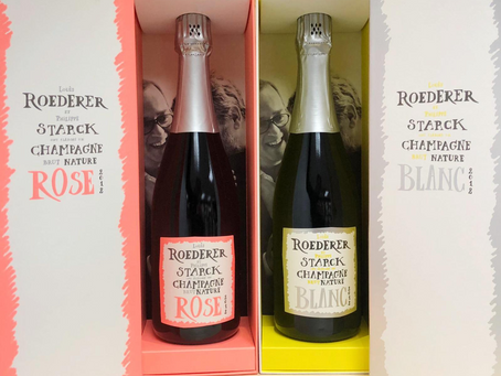 Instock Now! Latest 2012 Louis Roederer x Philippe Starck Blanc and Rosé, Only HK$590/Bt+