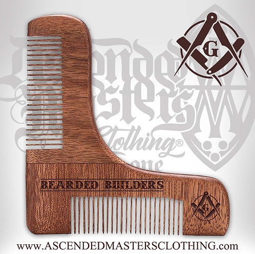 BEARDED BUILDERS the SQUARE comb