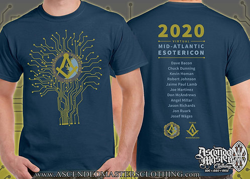 MID-ATLANTIC ESOTERICON 2020 TREE T-Shirt