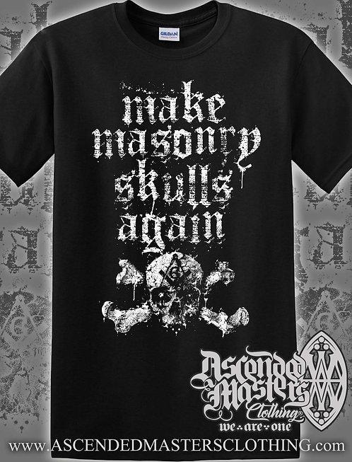 MASONIC SKULL CLUB T-Shirt