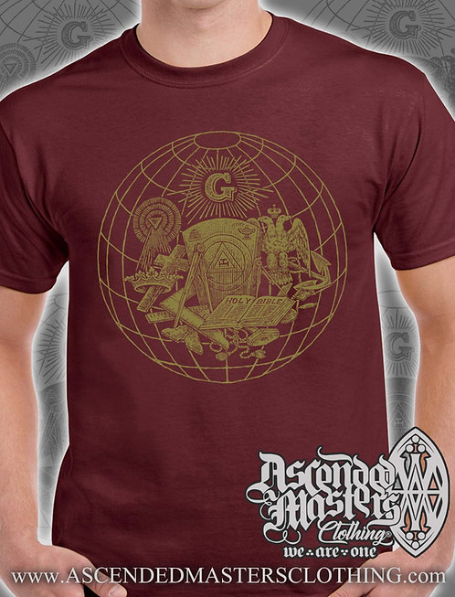 WORLDWIDE LIMITED ED. T-Shirt (MAROON)