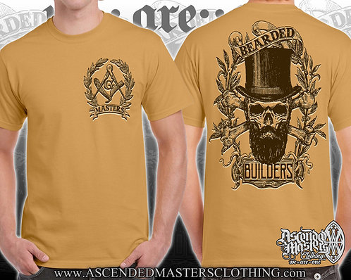 THE BEARDED BUILDERS MASTERS T-Shirt