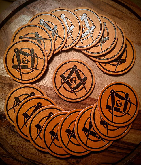 """BEARDED BUILDERS 2"""" Round Patch"""