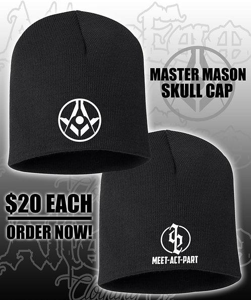 MASTER MASON Skull Cap Beanie