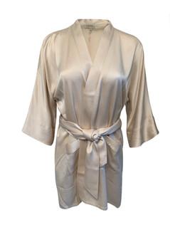 Nyhet! Kimono i silke vnr 6113