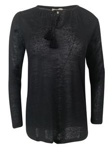 Strikket pullover i i lin vnr 6650 fra Amuse by Veslemøy