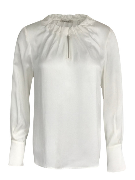 Bluse med drapering vnr 5132