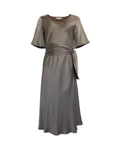 Kjole i sandvasket silke vnr 6154 fra Amuse by Veaslemøy