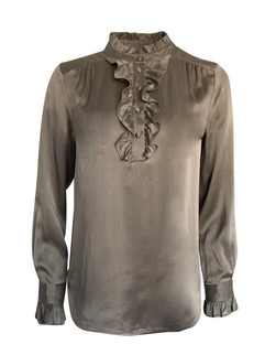 Ruffel bluse vnr 6109 fra Amuse by Veslemoy