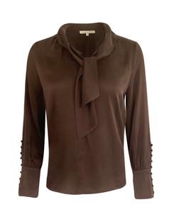 NY MODELL: silke med sløyfe og mansjett vnr 5102
