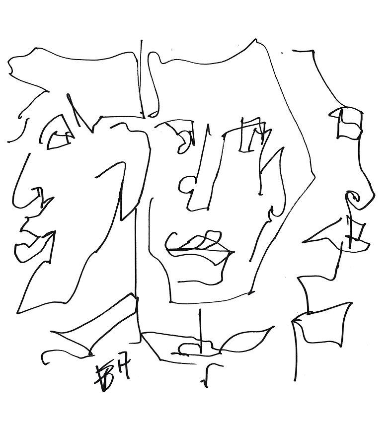 Kopf, Porträt, Victoria Ebert