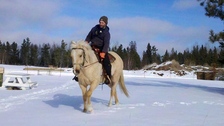 Will riding Cody last winter. Missing my