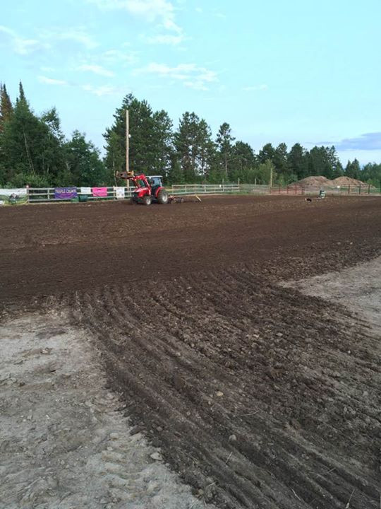 Getting the ground ready for Tuesday nig