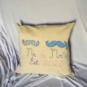 Mr & Mr Celebration Cushion