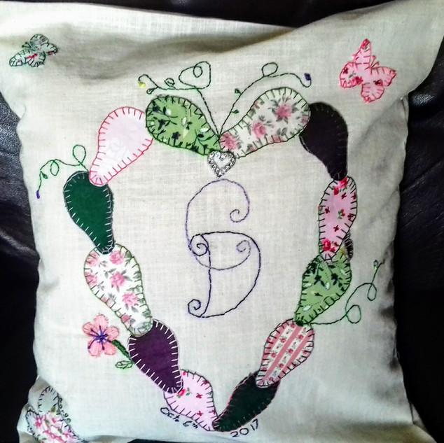 Wedding/Anniversay Cushion