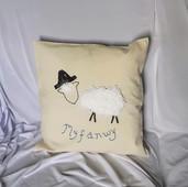 Myfanwy Sheep Cushion