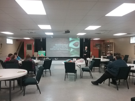 Healthy Pantry Initiative Presentation!