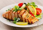 poissons, fruits de mers, crevettes, pétoncles etc.