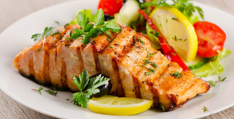 Mirlo's Grilled Salmon