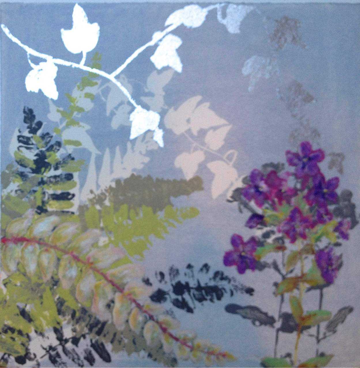 Small Garden I - purple (2013)