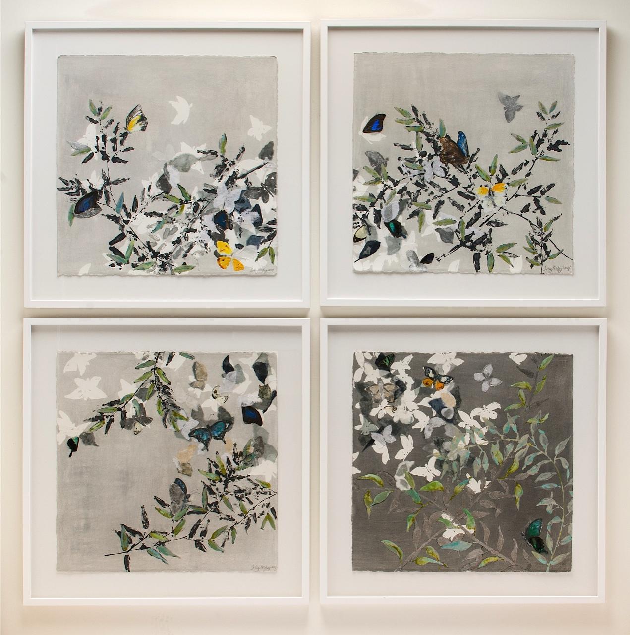 Butterflies I, II, III & IV (2014)