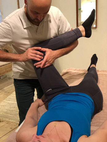 Knee and hip mobilisation