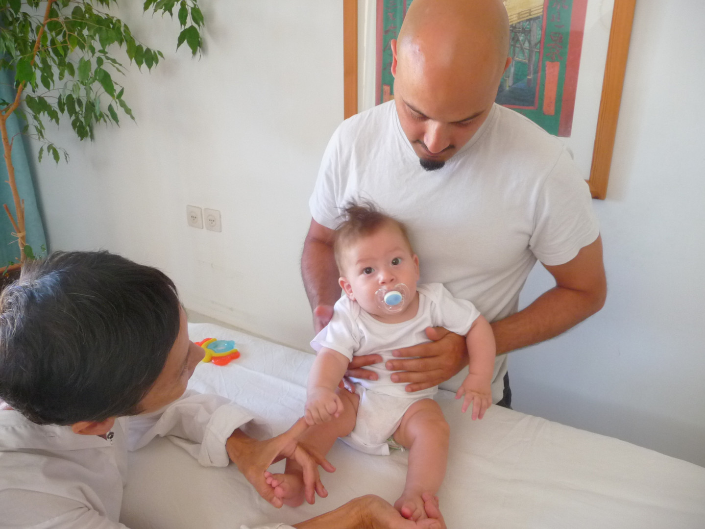 Osteopathic check for baby