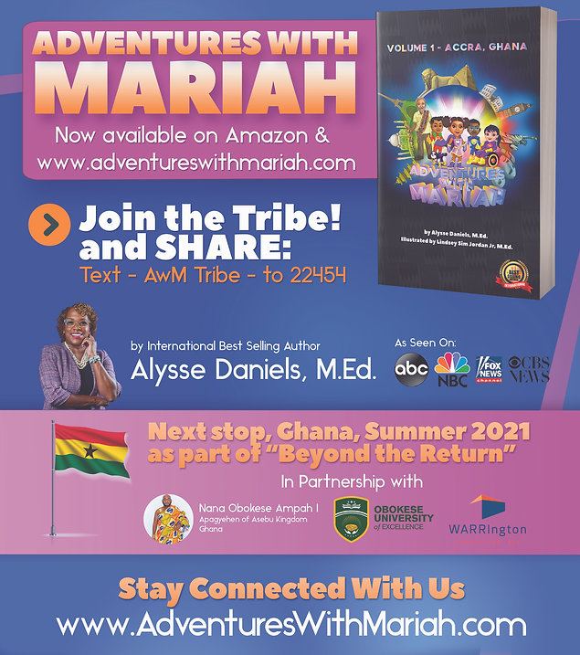 Adventures With Mariah Post-Launch Flyer