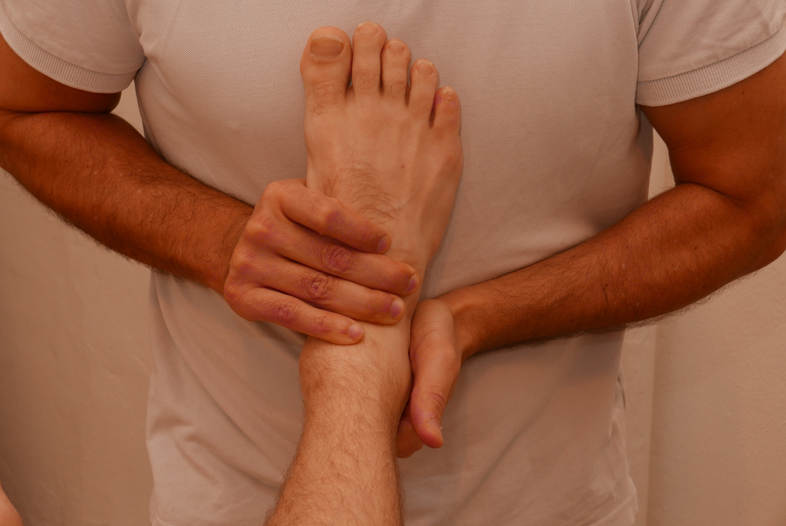 Ankle joint mobilty test