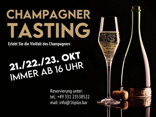 Champagner Tasting - 21./22./23. Okt