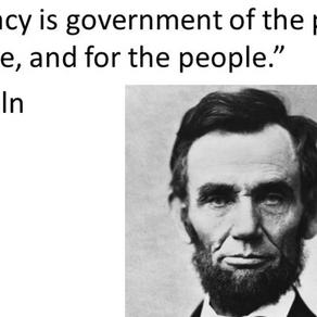 Σκέψεις γύρω από τη Δημοκρατία