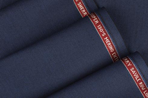 Tkanina angielska z Savile Row - Londyn, wełna Merino, wysokoskrętna 130's dostępna w pracowni MR Badura.