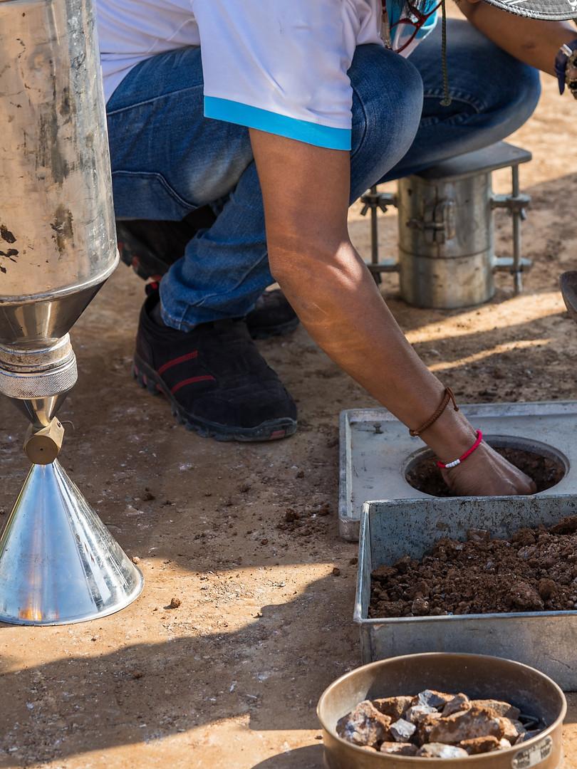 Soil Density Test