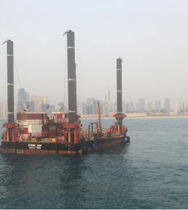 Marine Offshore soil investigation work
