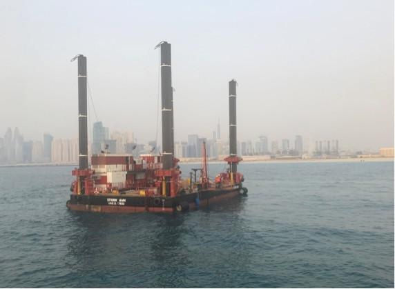 Marine Offshore soil investigation work