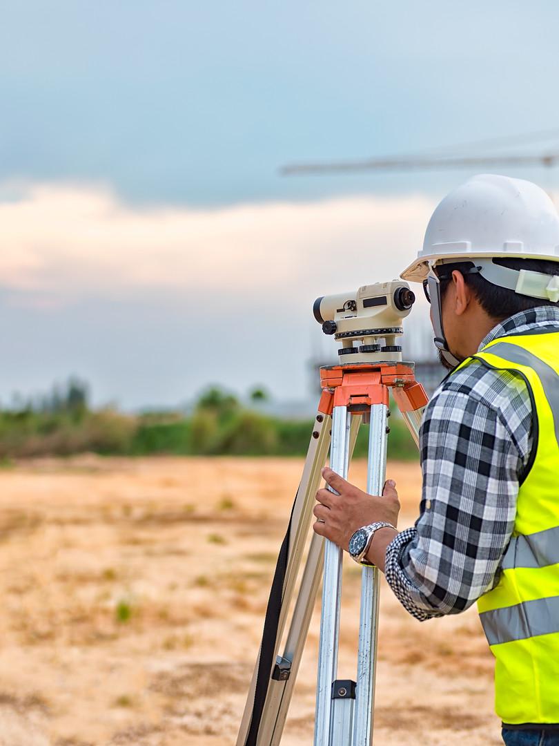 Surveying work