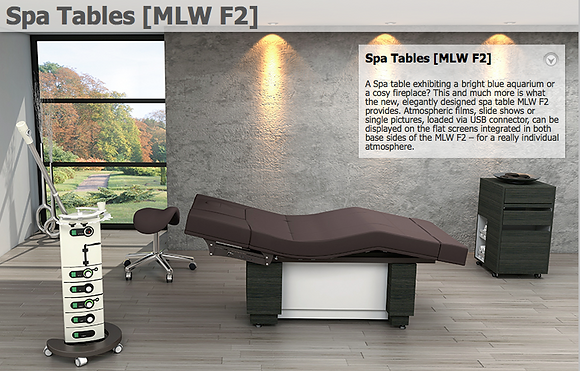 SPA Tables MLW F2