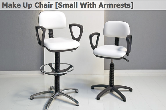 Make Up Chair [Small With Armrests]