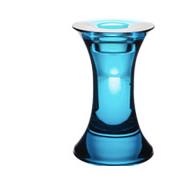 Pillar candlestick holder pink