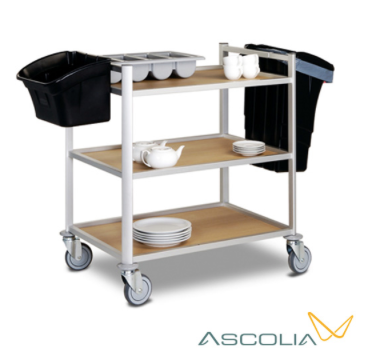 SERVING TROLLEY : MICHIGAN