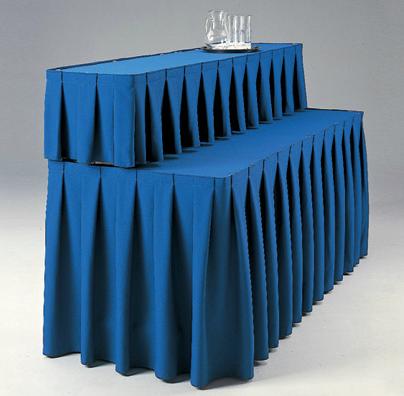 Юбки для столов и сцен